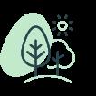 Coeur d'îlot végétal